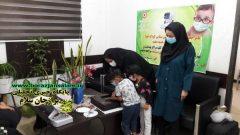 افتتاح نمادین برنامه پیشگیری از تنبلی چشم کودکان ۳ تا ۶ سال درمدیریت بهزیستی شهرستان بوشهر