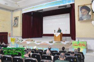آیین تجلیل از فرماندهان دوران دفاع مقدس شهرستان دشتستان برگزار شد + تصاویر