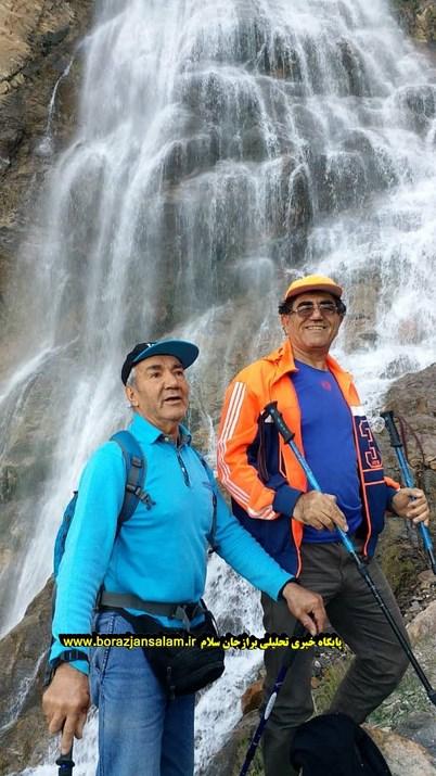 تصاویر صعود کوهنوردان برازجانی و استان بوشهر به قلل آبشار ناری