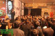 تصاویر اجتماع شهادت سردار سلیمانی در حسینه اعظم برازجان