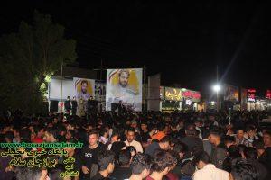 تصاویر اختصاصی آخرین شب ستادهای انتخاباتی در برازجان