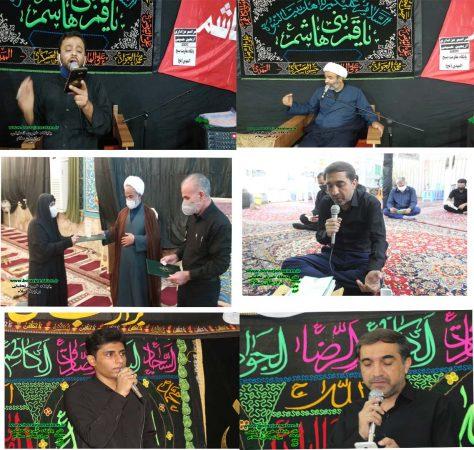 تصاویر عزاداری مساجد برازجان در شب و روز اربعین در شرایط کرونایی و رعایت پروتکل های بهداشتی / دو مسجد در شب و یک مسجد در روز اربعین برازجان