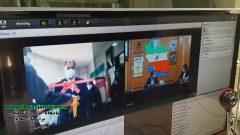 تصاویر افتتاح آزمایشگاه تشخیص ملکولی دشتستان به صورت ویدئو کنفرانس همراه با استاندار بوشهر و فرماندار دشتستان