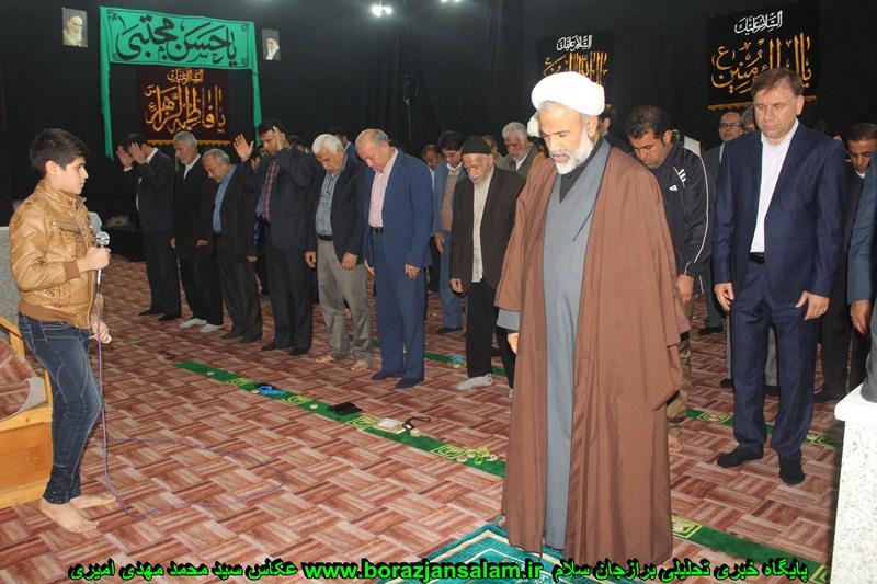 به مناسبت چهلمین سال پیروزی انقلاب اسلامی افتتاح مسجد انقلاب برازجان انجام شد.