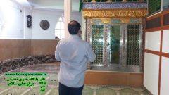 تصاویر طبیعت آستان مقدس امامزاده زیدبن علی (علیه السلام) روستای گلنگون