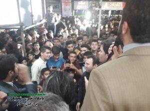 حضور پرشور مردم و جوانان در ستاد حقوقدان اصغر صفرپور+تصاویر