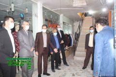 طرح ایرانی بخر و ایرانی بپوش ۲ در برازجان توسط کارگاه تولیدی عفاف و حجاب سلیمی در برازجان افتتاح شد