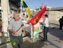 برگزاری ایستگاه صلواتی و جشن نیمه شعبان در برازجان