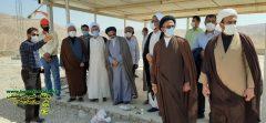 بازدید ائمه جمعه محترم شهرستان دشتستان از مراحل پیشرفت پروژه سد مخزنی دالکی