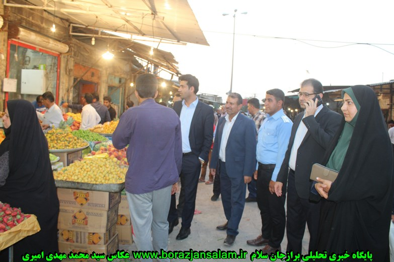 در روز سیزدهم رمضان بازار شهر برازجان از بهترین افراد پر شده بود / از دوتن از اعضای شورای شهر برازجان گرفته تا حوزه اصناف و  اتاق اصناف برازجان  + تصاویر و جزئیات