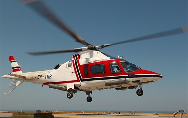 معاون اورژانس : پرواز بالگرد بر روی خلیج فارس برای نجات جان پسر۱۱ ساله