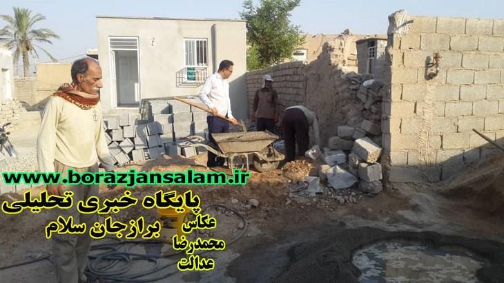 پایگاه امیرالمؤمنین علیه السلام سعدآباد کمک یار یکی از مددجویان