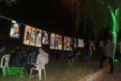 هفته دفاع مقدس /  برنامه یک شب، یک محله، یک سنگر برای چهارمین شب در برازجان برگزار شد