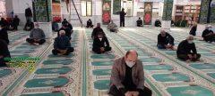 برگزاری دعای اربعین حسینی با حضور عاشقان حضرت اباعبدالله الحسین (ع) شهر آبدان  با رعایت پرتکل های بهداشتی