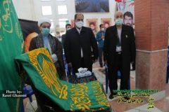 تصاویر مراسم بزرگداشت شهدای هفتم تیر استان بوشهر با حضور خادمین امام رضا (ع)
