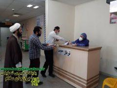 بسته های مهربانی توسط پایگاه فرهنگی اجتماعی محله علی آباد برازجان به مدافعان سلامت بیمارستان شهید گنجی برازجان تقدیم شد .