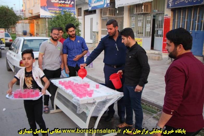 تصاویر اختصاصی ایستگاه صلواتی حوزه باقر العلوم برازجان