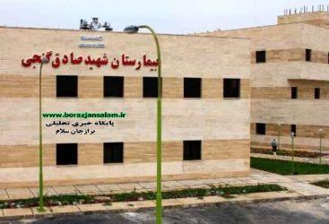 مدافعین سلامت بیمارستان شهید گنجی برازجان تجلیل شدند
