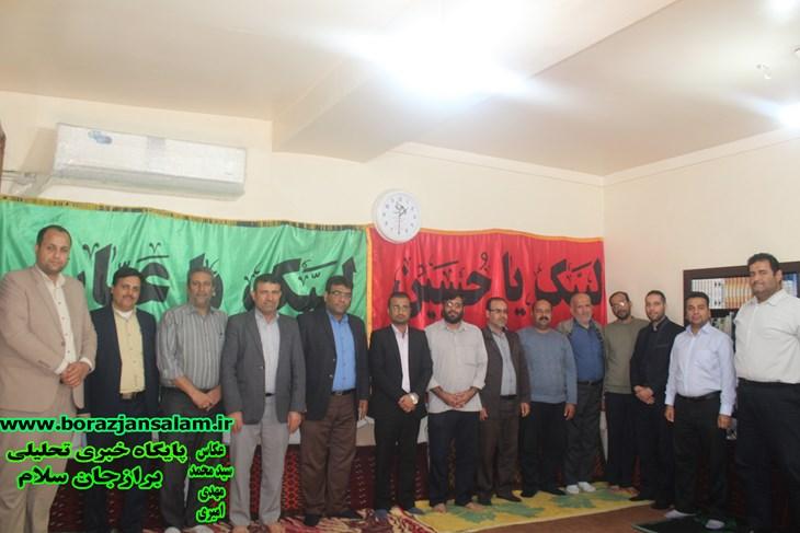 تجلیل و تقدیر از مدیران جهادی شهرستان دشتستان توسط گروه جهادی مردمی بنی هاشمی با حضور ریاست محترم شورای شهر برازجان