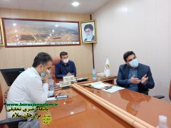 تصاویر بازدیدو جلسه به میزبانی کمیسیون خدمات شهری شورای اسلامی شهر برازجان به ریاست جناب بنافی موضوع فاضلاب شهری ومحیط زیست