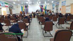 تصاویر روزهای کرونایی امتحانات دانش آموزی مدارس برازجان و بازدید مسئولین