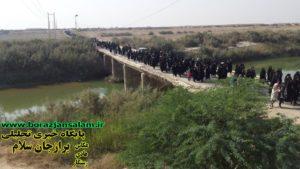 مراسم پیاده روی بازماندگان اربعین حسینی در دورودگاه