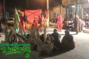 تعزیه خوانی خیمه خورشید در برازجان برگزار شد .