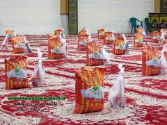 توزیع بستههای معیشتی بسیج پیشکسوتان بوشهر بین خانوادههای نیازمند