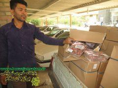 توزیع ۳۰۰ بسته گوشت بین توانخواهان و مددجویان بهزیستی شهرستان بوشهر