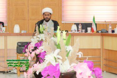 برگزاری نشست شورای هماهنگی ستادمرکزی آیت اله رئیسی در استان بوشهر +گزارش تصویری