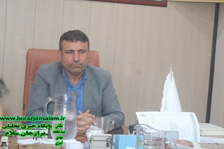 ریاست شورای اسلامی شهربرازجان خبردادبه زودی یک خیابان و میدانی درشهربرازجان بنام سردارشهیدقاسم سلیمانی نام گزاری خواهدشد .