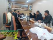 جلسه شورای شهربرازجان به ریاست بنافی بصورت علنی ساعت ۱۳امروزبرگزارشد .