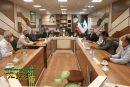 جلسه هم اندیشی با حضور آقای ثبوت مدیر و اعضای محترم شورای ستاد بازسازی عتبات عالیات شهرستان دشتستان ، در دفترشهردار برازجان جناب آقای مهندس محمدی با فضای بسیار صمیمی تشکیل گردید