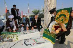 شهر إبدان امروز مهمان خدام حرم رضوی علیه السلام است + ۳ گزارش تصویری امروز