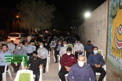 فیلم و تصاویر مراسم شهادت امام جعفر صادق در ستاد ایت الله ریسی در برازجان