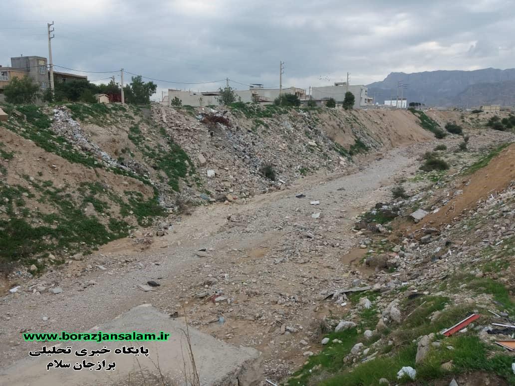درخواست شهروند برازجانی از مهندس استادزاده از فعالین اجتماعی شهر برازجان از وضعیت یکی از قسمتهای حاشیه ای و دره ای شهر برازجان