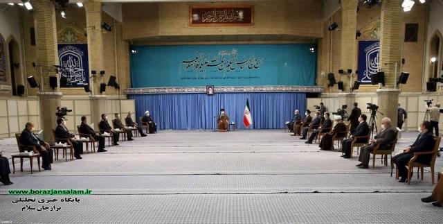 تصاویر و جزئیات جلسه ستاد ملی مقابله با کرونا در حضور رهبر معظم انقلاب اسلامی در حسینیه امام خمینی(ره)