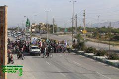 گزارش تصویری رژه خودرویی و موتوری به مناسبت بسیت و دوم بهمن ماه روز پیروزی انقلاب اسلامی
