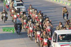 تصاویر و فیلم رژه خودرویی هفته دفاع مقدس در برازجان