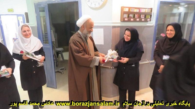 گزارش تصویری برنامه تجلیل از پرستاران بیمارستان مهر برازجان