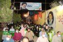 حضور دکتر عالی پور رئیس ستاد حامیان ایت الله رئیسی (سحر) از استان بوشهر در ستاد ایت الله رئیسی شورای وحدت نیروهای انقلاب دشتستان و اعلام هم بستگی و حمایت از ایت الله رئیسی + تصاویر
