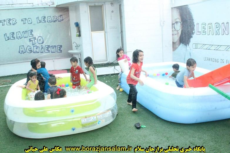 فستیوال آب بازی آکادمی زبان استادزاده برگزار شد+تصاویر