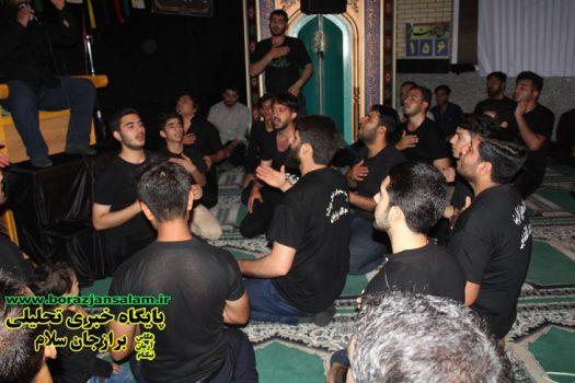 مراسم شهادت امام جعفر صادق در مسجد الغدیر ( پایگاه کربلا ) برازجان برگزار شد به روایت تصویر