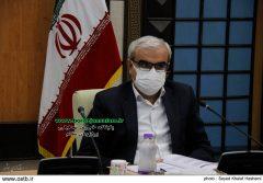 جلسه بررسی مسائل و مشکلات وپیگیری اقدامات صورت گرفته درمحلات هدف شهرستان بوشهر