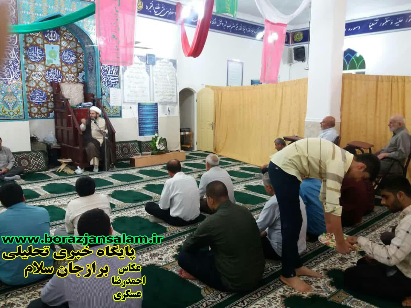 تصاویر شب عید غدیر خم مسجد امام خمینی (ره) برازجان به همرا سخنرانی حاج اقا فیضی
