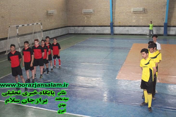 افتتاحیه مسابقه فوتسال جام محرم  سال ۹۸ برگزار شد .