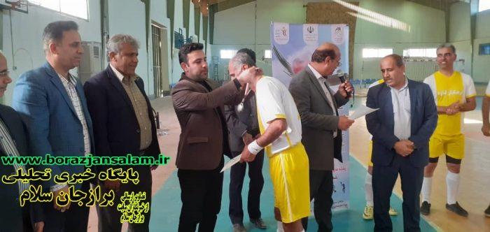 رقابتهای فوتسال فرهنگیان استان بوشهر با قهرمانی تیم سعدآباد به پایان رسید .