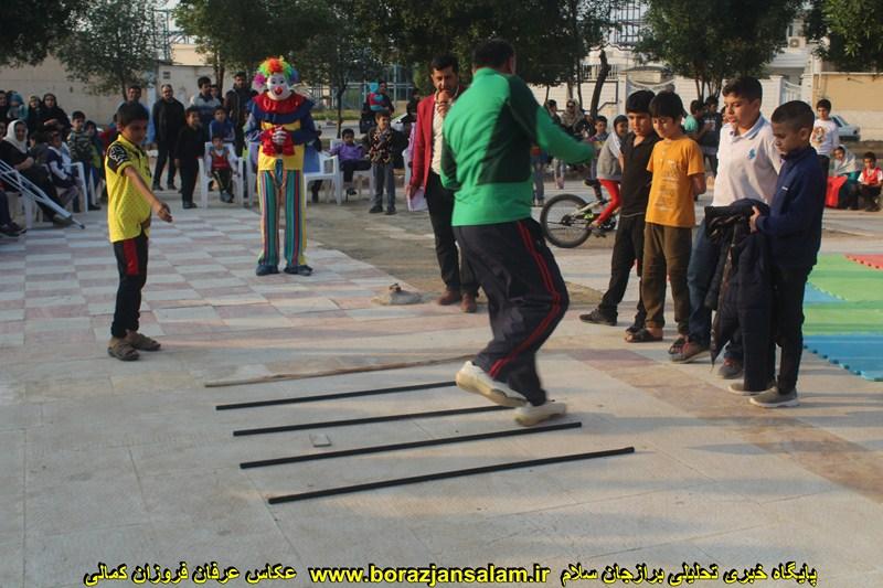 محله پویا در محله آزادگان برازجان برگزار شد