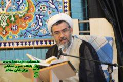 مراسم بزرگداشت یوم الله پانزدهم خرداد در برازجان برگزار شد+ تصاویر اختصاصی