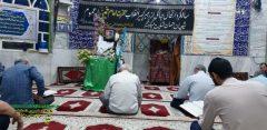 مسجد طریق برازجان در سالگرد رحلت حضرت امام خمینی ( ره ) به سوک نشست
